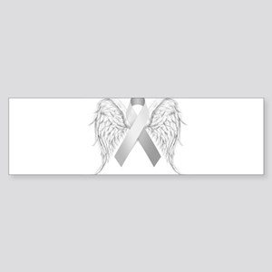 In Memory of - Silver Bumper Sticker