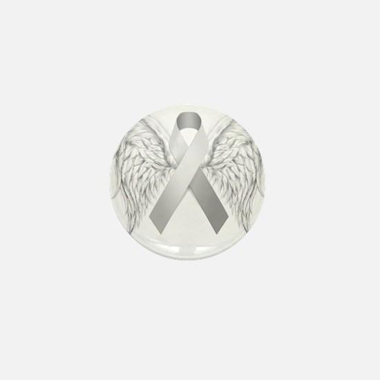 In Memory of - Silver Mini Button