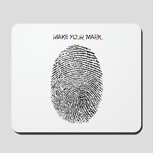 Thumb Print Mousepad