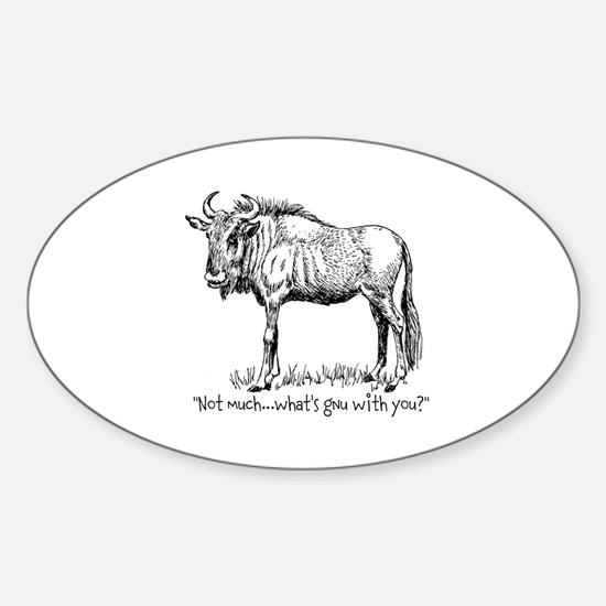 Whats Gnu? Decal