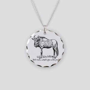 Whats Gnu? Necklace