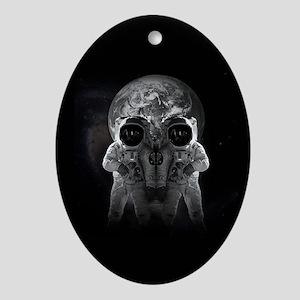 astronauts Oval Ornament