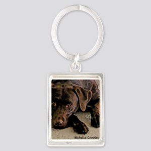 ChocolateLab2 Keychains