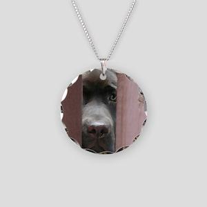 I Spy Necklace Circle Charm