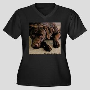 ChocolateLab2 Plus Size T-Shirt