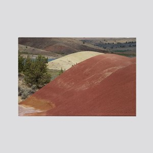 Painted Hills Rectangle Magnet