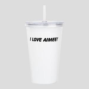 Aimee Acrylic Double-wall Tumbler