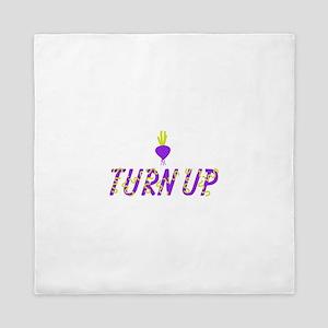 Turn Up Turnip Queen Duvet