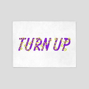 Turn Up 5'x7'Area Rug