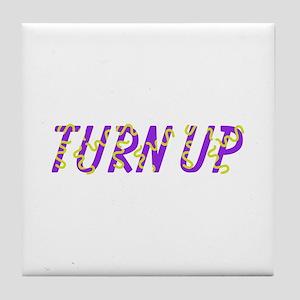 Turn Up Tile Coaster