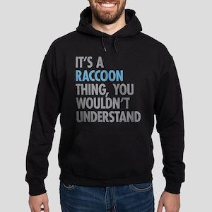 Raccoon Thing Hoodie (dark)