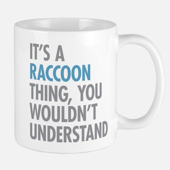 Raccoon Thing Mugs