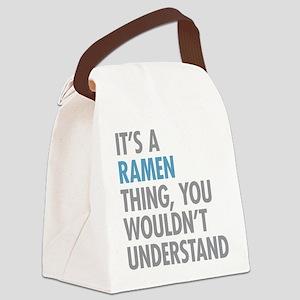 Ramen Thing Canvas Lunch Bag