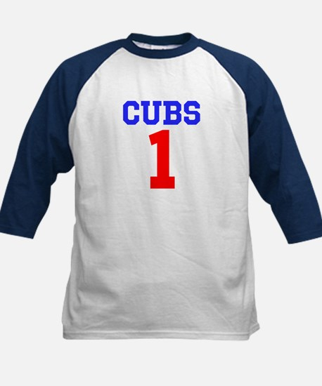 CUBS #1 Kids Baseball Jersey