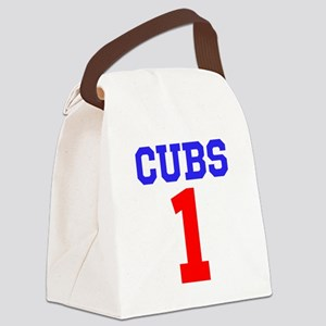 CUBS #1 Canvas Lunch Bag