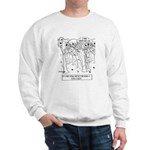 Philosophy Cartoon 9483 Sweatshirt
