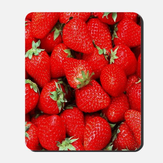 Strawberry Flip Mousepad