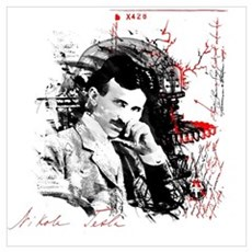 Nikola Tesla Canvas Art