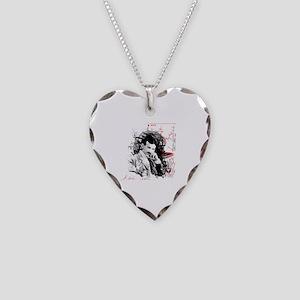 Nikola Tesla Necklace Heart Charm