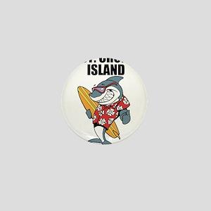 St. Croix Island Mini Button