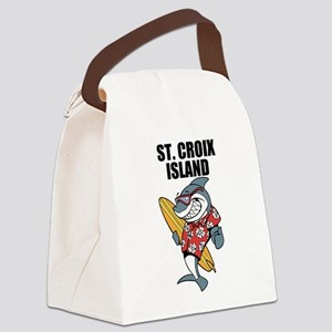 St. Croix Island Canvas Lunch Bag