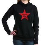 Chess Star Big Red Star Women's Hooded Sweatsh