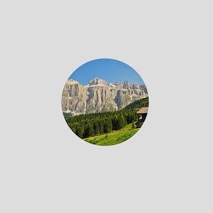 Dolomiti - high Fassa Valley Mini Button