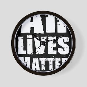 All Lives Matter Wall Clock