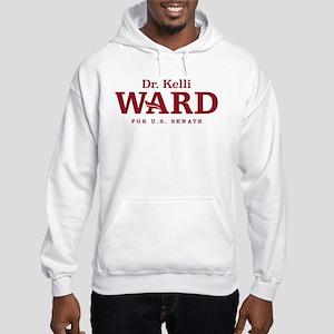 Ward-Red Hooded Sweatshirt