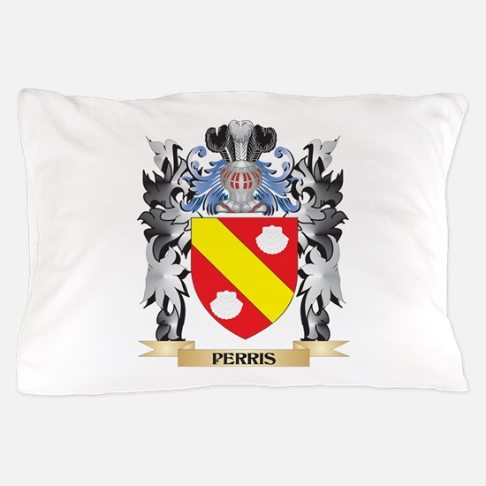 Perris Coat of Arms - Family Crest Pillow Case