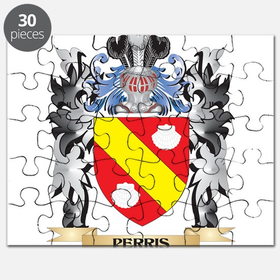 Perris Coat of Arms - Family Crest Puzzle