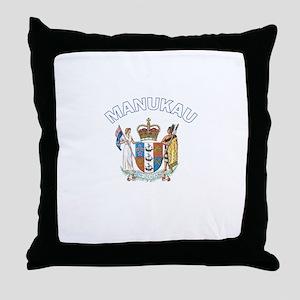 Manukau, New Zealand Throw Pillow