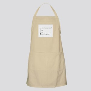 Are you in a bad mood ? Apron