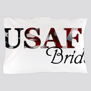 Bride USAF_flag  Pillow Case