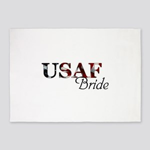 Bride USAF_flag  5'x7'Area Rug