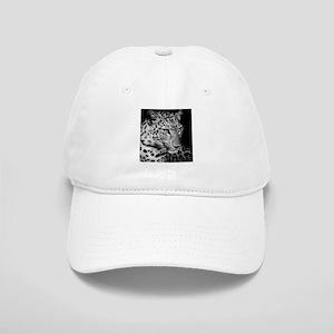 White Leopard Baseball Cap