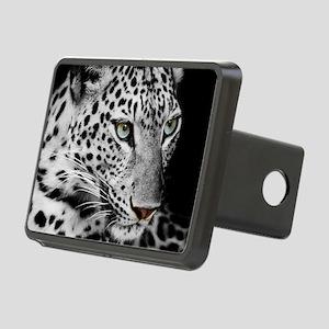 White Leopard Hitch Cover