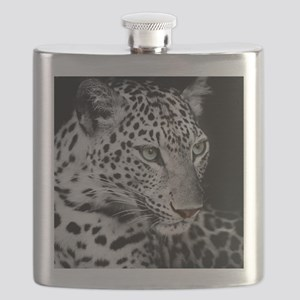 White Leopard Flask