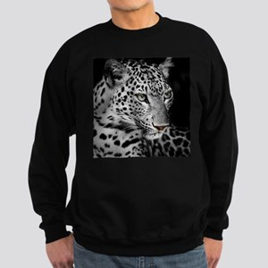 White Leopard Sweatshirt