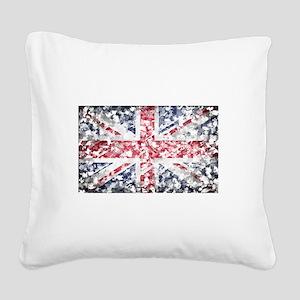 flag Square Canvas Pillow