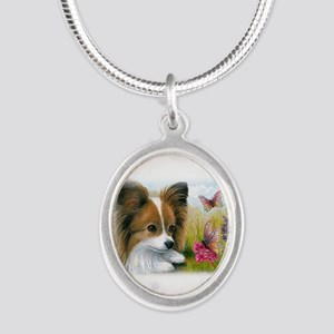 Dog 123 Papillon Necklaces