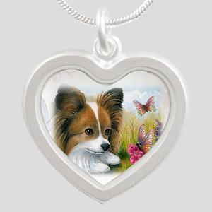 Dog 123 Papillon Necklaces