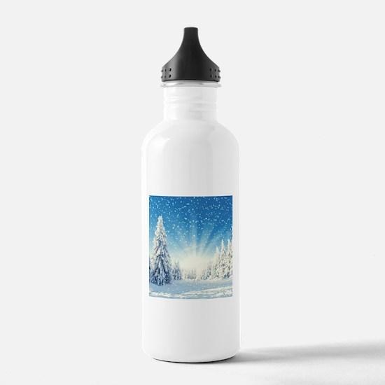 Winter Forest Water Bottle