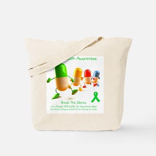 Mental Health Awareness Tote Bag