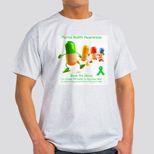 Mental Health Awareness Light T-Shirt