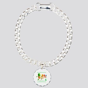 Mental Health Awareness Charm Bracelet, One Charm