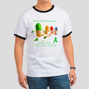 Mental Health Awareness Ringer T