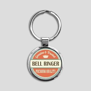 Bell Ringer Round Keychain