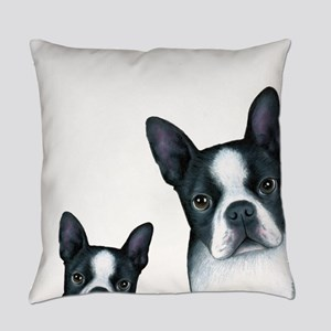 Dog 128 Boston Terrier Everyday Pillow