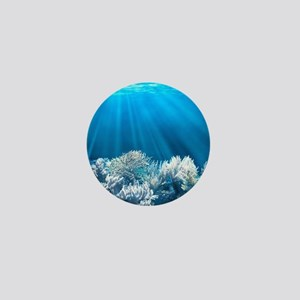 Tropical Reef Mini Button